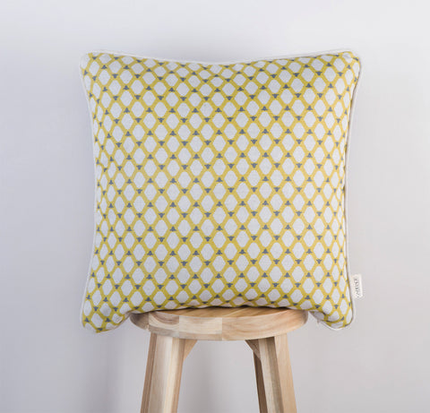 Cumbrian Sheep Cushion | Lime & Slate