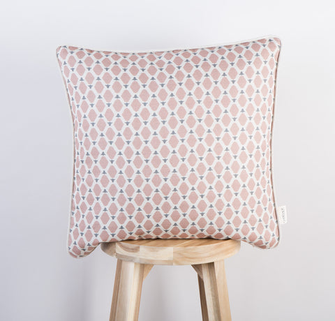 Cumbrian Sheep Cushion| Blush & Dove