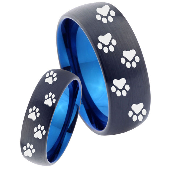 Paw Print Designs Set