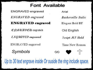 Inside Text Engraving Service