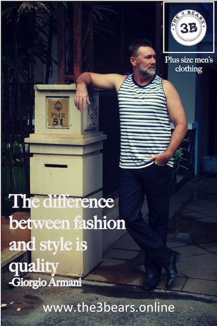The difference between fashion and style, is quality.
