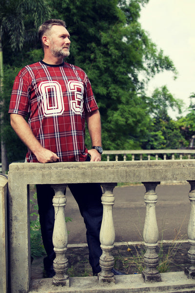 CHECKERS Plus size men's clothing collection