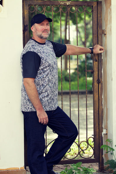 PAISLEY Plus size men's clothing collection