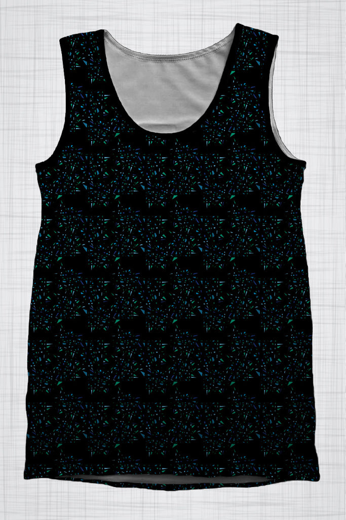 Plus Size Men's Clothing, Glass singlet AA0393