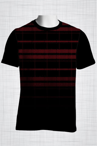 Plus Size Men's Clothing Checkers t-shirt FF0076