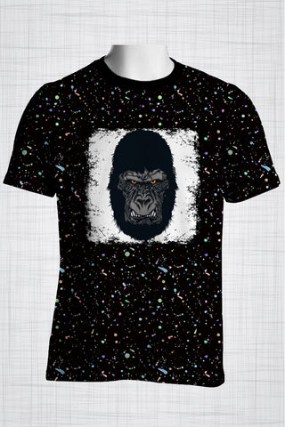 Plus Size Men's Clothing Gorilla t-shirt