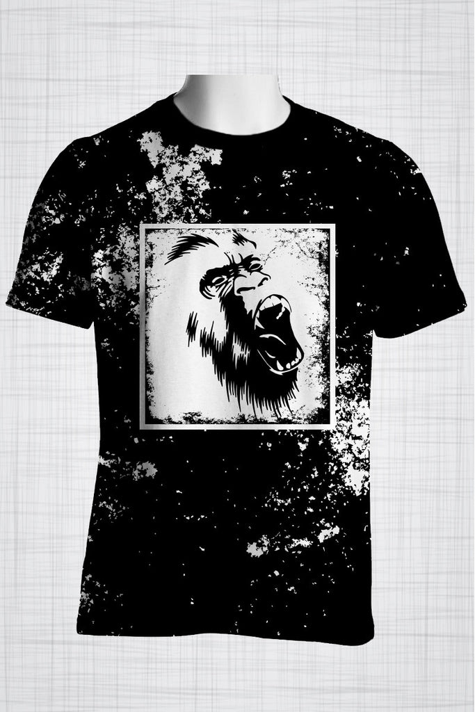 Plus Size Men's Clothing Wild Monkey t-shirt