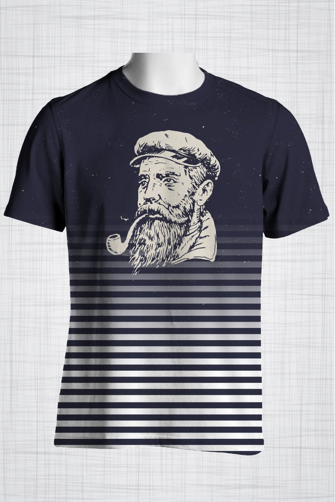 Plus Size Men's Clothing Sailor grunge t-shirt