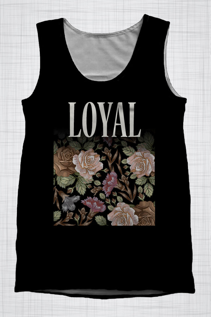 Plus Size Men's Clothing LOYAL Vintage singlet CC0290