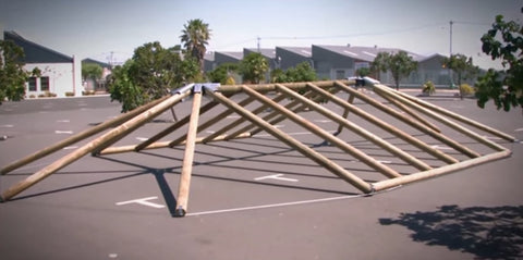 Eezi-Over 2 Roof Kits Structure