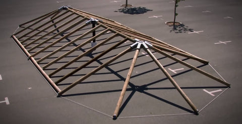 Eezi-Over 3 Roof Kits Structure
