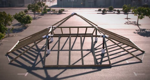 Eezi-Over 5 Roof Kits Structure