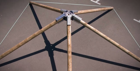 Eezi-Over Roof Kit 5-Sided Structure