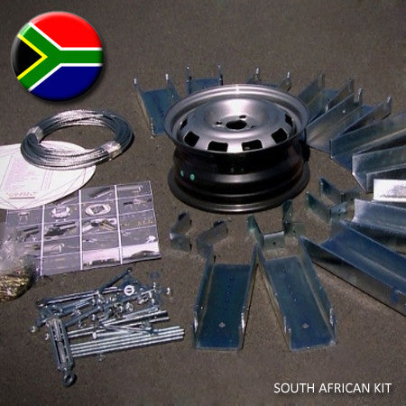 SOUTH AFRICAN ROOF KIT - Eezi-Over Roofing Structure Kit (for Wooden Beams) - Eezi-Over Roofing