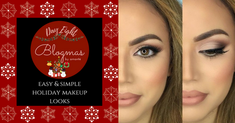 easy holiday makeup looks amante blog
