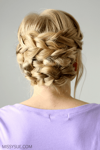 Missy Sue Updo Hair Tutorial