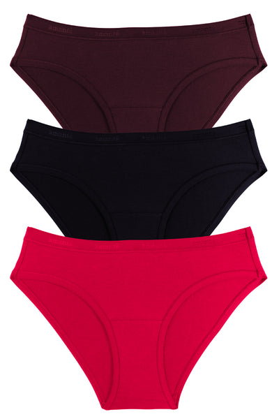 Essentials Cotton Bikini Briefs - Wide Band