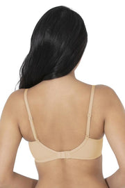 Satin Edge Non-Wired Bra  - amanté Bra