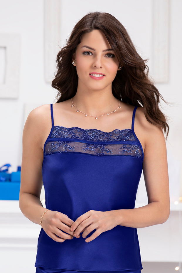 Adore Cami S / Blue Depths - amanté Sleepwear