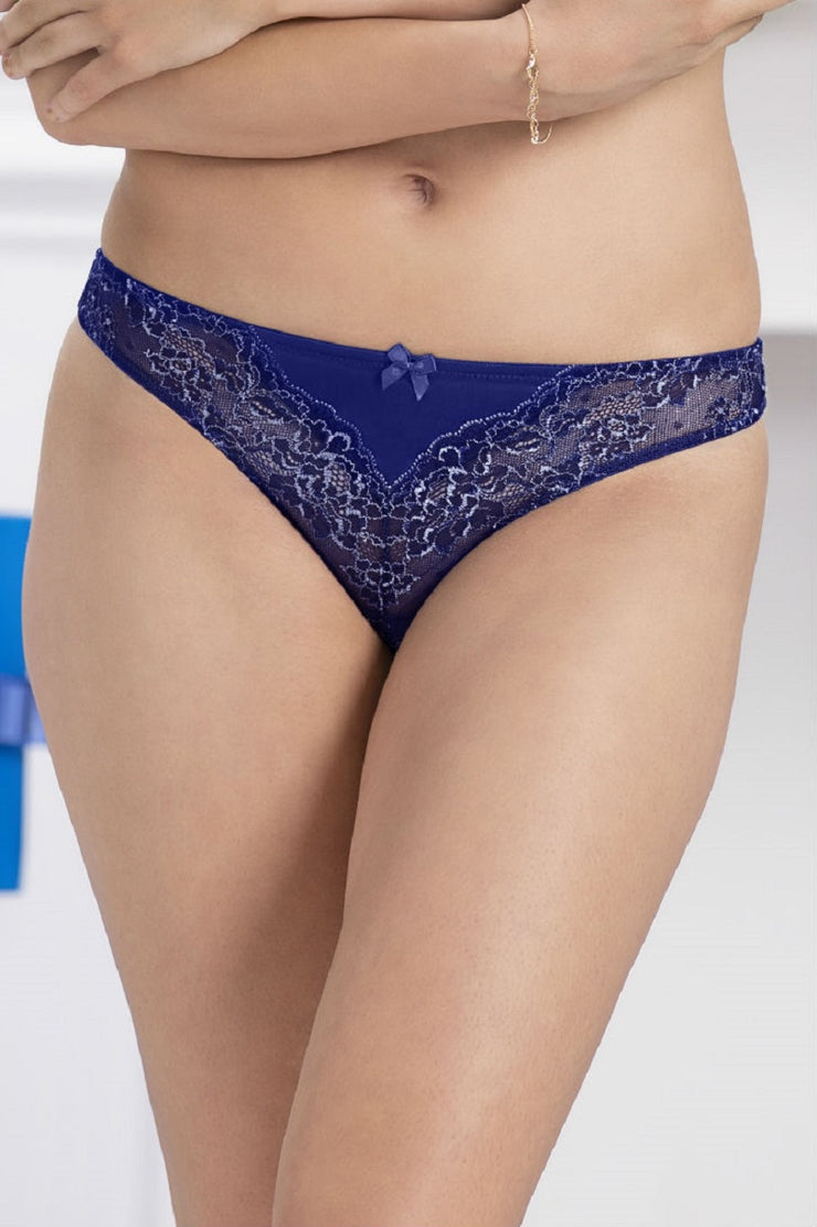 Adore Thong S / Blue Depths - amanté Pantie