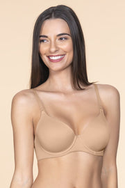 Smooth Moves Wired Bra 32D / Sandalwood - amanté Bra