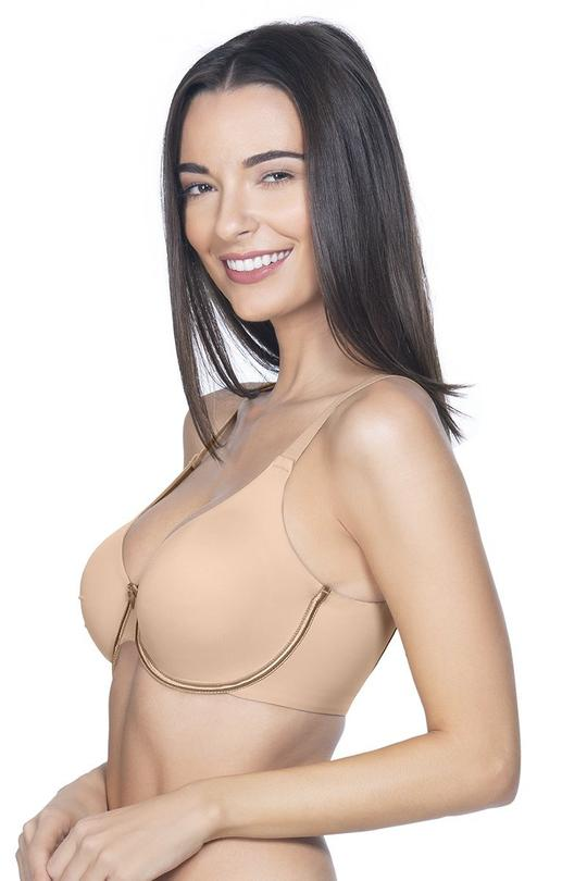 Curvy Smooth Non-Padded Wired Bra  - amanté Bra
