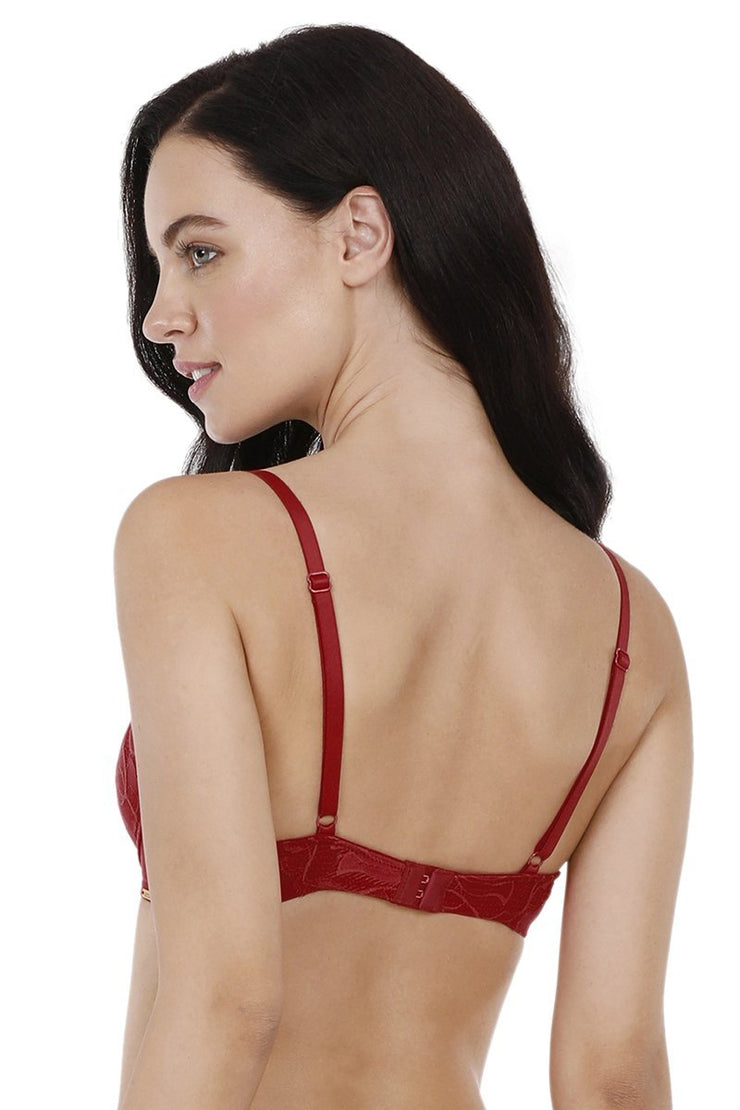 Lace Demi Push up Bra  - amanté Bra
