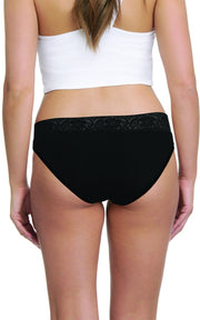 Bikini with Lace Trim (Pack of 3)  - amanté Panty