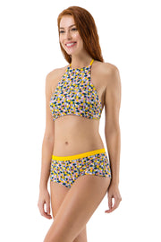 Boyshort with Contrast Waist  - amanté Swimwear