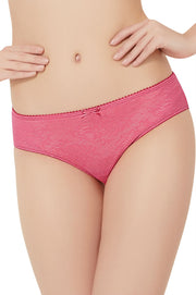 Lace Essentials Panty (New Colours) S / Neon Pink - amanté Pantie