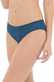 Lace Essentials Panty (New Colours) S / Insignia Blue - amanté Pantie