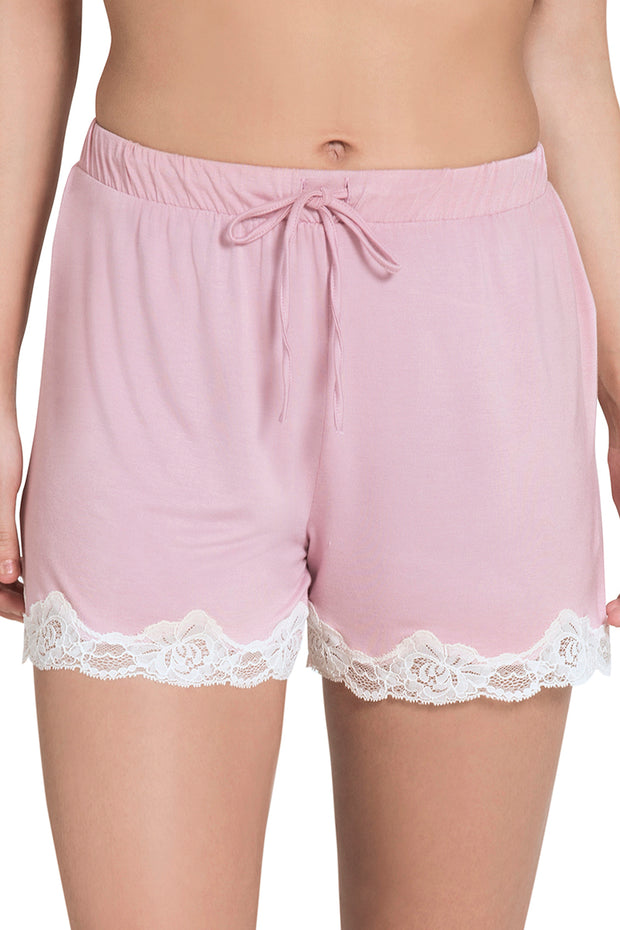 Lace Touch Sleep Short S / Zepher - amanté Sleepwear