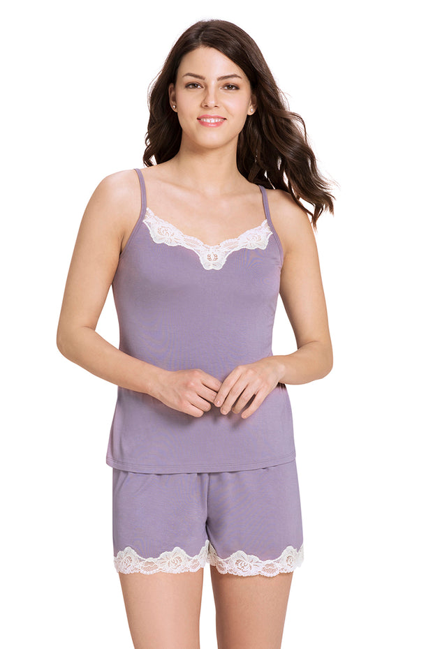Lace Touch Sleep Short  - amanté Sleepwear