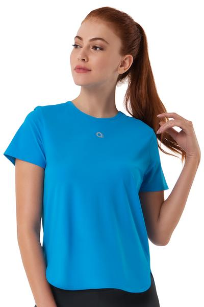 Loose Fitted Sports Top S / Diva Blue - amanté Sportswear
