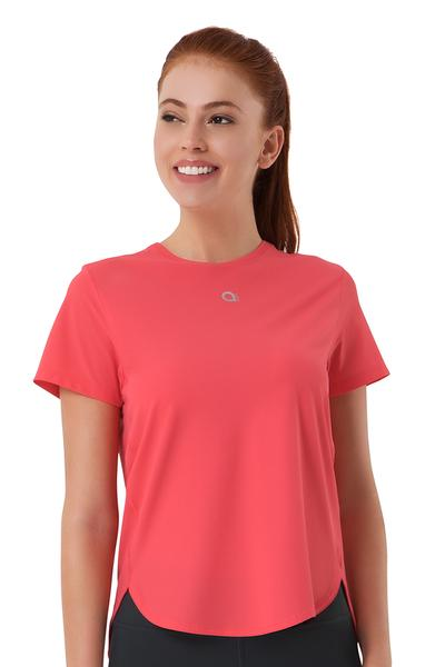 Loose Fitted Sports Top S / Flamingo Pink - amanté Sportswear