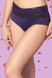 Daisy Lift Full Brief S / Velvet Purple - amanté Pantie