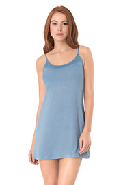 Satin Edge Sleep Dress S / Infinity - amanté Sleepwear