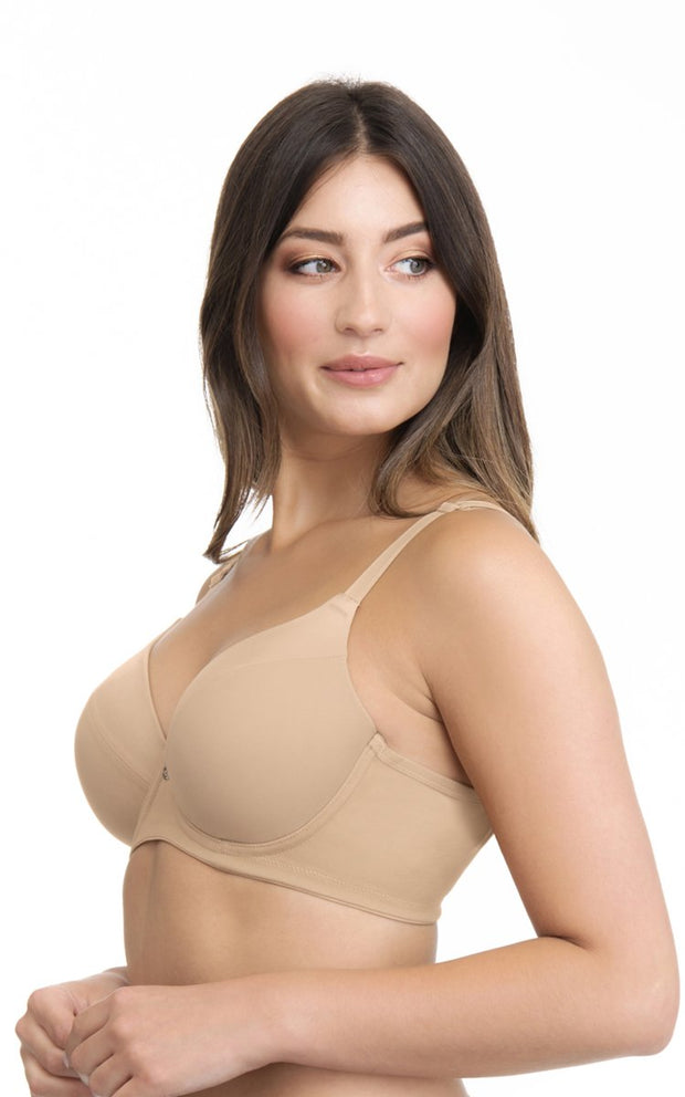 Smooth Definition Bra 34C / Sandalwood - amanté Bra