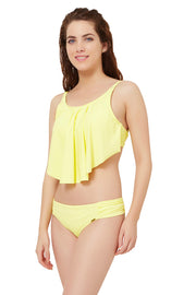 Flounced Swim Top  - amanté Swimwear