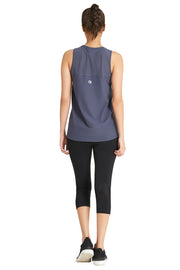 Tank Top with Mesh Detail  - amanté Sportswear