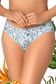Tropical Delight Bikini S / Birds Print - amanté Pantie
