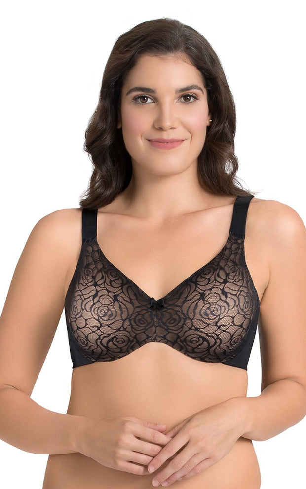 Perfect Profile Minimizer Bra 34C / Black - amanté Bra