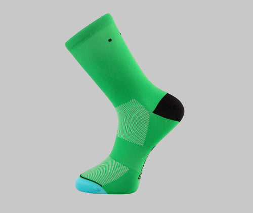 Alpine Green Cycling Socks