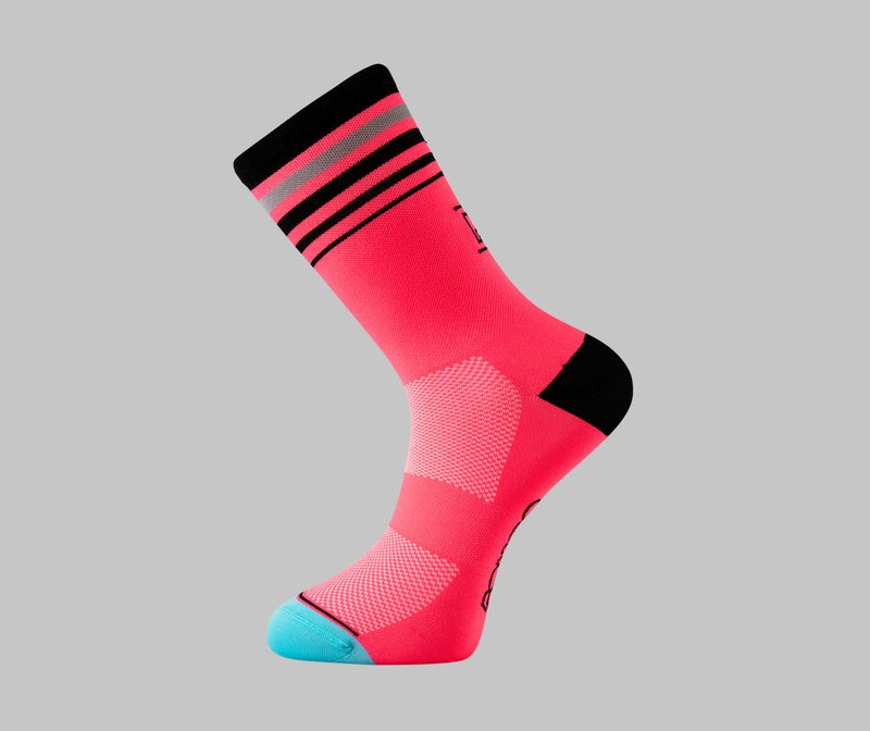 Fluorescent Cycling Socks