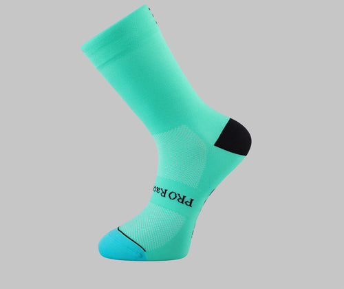 celeste bianchi cycling socks PONGO London cycling socks