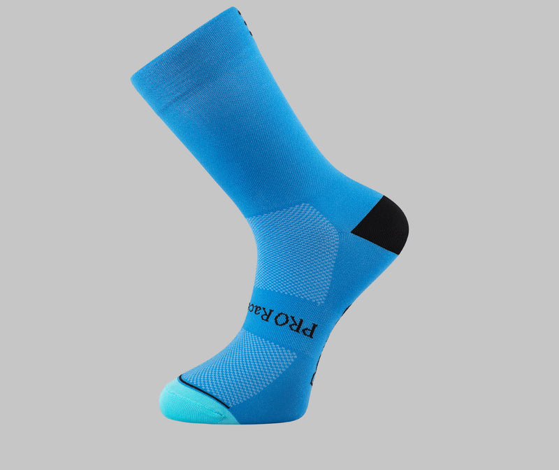 bluei cycling socks PONGO London cycling socks