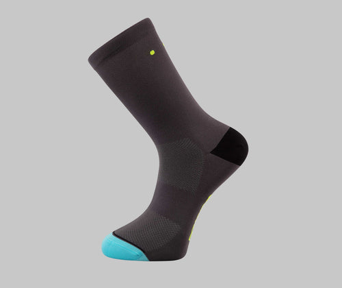 Cobalt Grey Cycling Socks