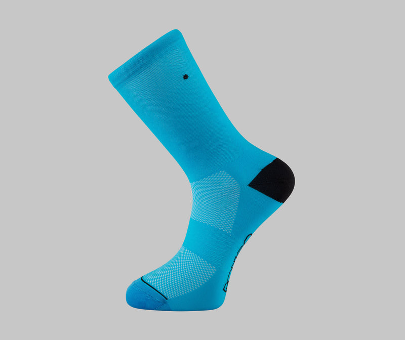 Turquoise Cycling Socks