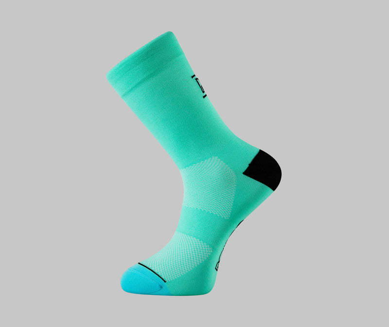 celeste cycling sock