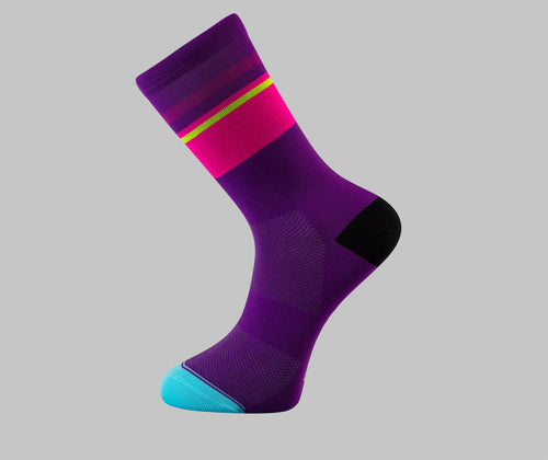 Tempo Cycling Socks - Purple